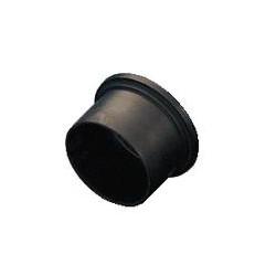 B 6,4/4/5,3 Krytka na  otvor 4mm černá