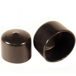 A/PE 28  Víko na trubku černá
