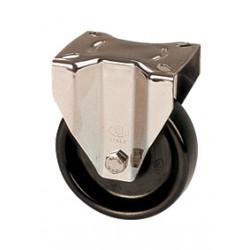 RHB 080/FX   Otočné kolo fenolové černé s brzdou