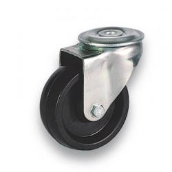 RHB 80/QX   Otočné kolo fenolové černé s otvorem