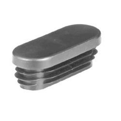 FO 50x30 /1-2,5   Záslepka plochooválná šedá