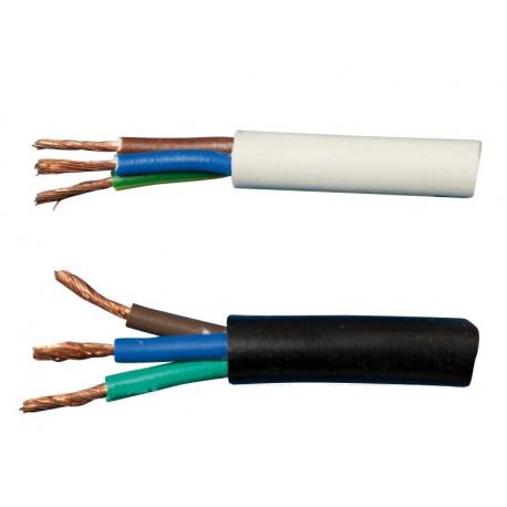 Kabel CYSY 3x0,5mm2 černý