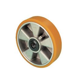ZPK 175W-25  Samostatné kolo s hliníkovým diskem a polyuretanovou obručí
