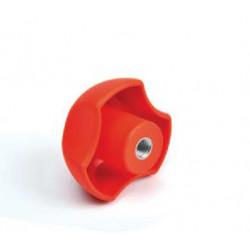 PYB 50/M10 - Ovládací element - červená