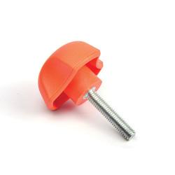 PYC 40/M6x15 - Ovládací element - oranžová