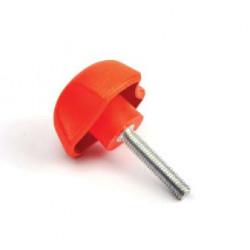 PYC 40/M6x15 - Ovládací element - červená