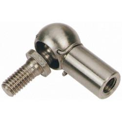 Nerezový kulový kloub CS19 M14x1,5L  V2a