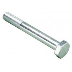 Šroub  M12x80  DIN 931- 8,8  zinek