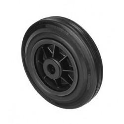 PNB 100A  Samostatné kolo  s černou gumovou obručí