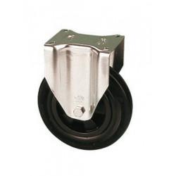 PNB 100A/FI  Pevné kolo  s černou gumovou obručí