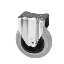 PGB 100A/FI  Pevné kolo  s šedou gumovou obručí