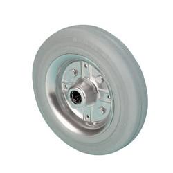 LGB 100A  Samostatné kolo s šedou gumovou obručí
