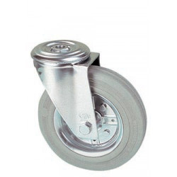 LGB 200/QR   Otočné kolo s šedou obručí s otvorem -12