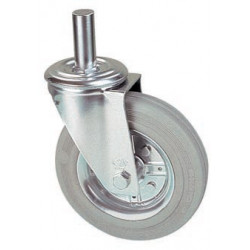 LGB 080/HR  Otočné kolo s šedou obručí s čepem