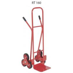 RT 160  Rudlík schodišťový - plná kola kluzné pouzdro