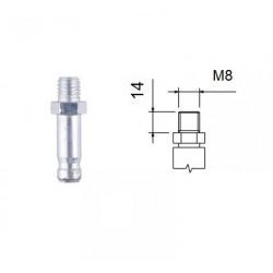 Čep se závitem M8x14  (kolečka EMI 10)