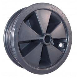 Disk kola samostatný plastový 400 KP (2,50-8)  na kluzné ložisko -22mm