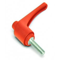 KLH 65 M8x30 Přestavitelná páčka plastová,oranžová