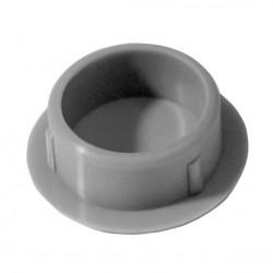 ZNT 125/QRD   Otočné kolo s šedou antistatickou obručí s otvorem a brzdou