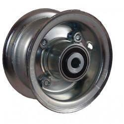 Disk kola samostatný plechový půlený 220-300 GLP pozink.(2,10-4 ) - kuličkový - 72x15mm