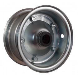 Disk kola samostatný plechový půlený 350 JLP pozink. (3,00-6 ) na jehlové ložisko -20mm