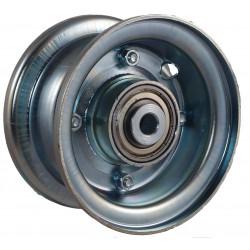 Disk kola samostatný plechový půlený 220-300 GLV pozink.(2,10-4 ) - kuličkový - 90x12mm