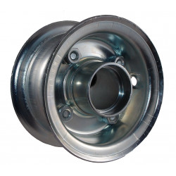 Disk kola samostatný plechový půlený 220-300 GLP pozink.(2,10-4 ) - bez ložisek - 72x42mm