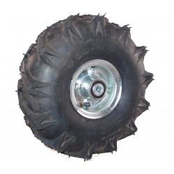 Nafukovací kolo na půleném pozinkovaném disku NB 300 GLP-TS-šípový -72x12mm