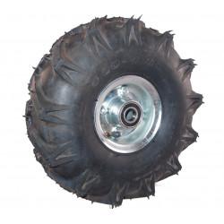 Nafukovací kolo na půleném pozinkovaném disku NB 300 GLP-TS-šípový -72x20mm