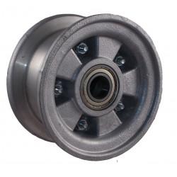 Disk kola samostatný dělený hliníkový 220-300 GL (2,10-4)  na kuličkové ložisko -25mm