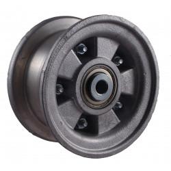 Disk kola samostatný dělený hliníkový 220-300 GL (2,10-4)  na kuličkové ložisko -12mm