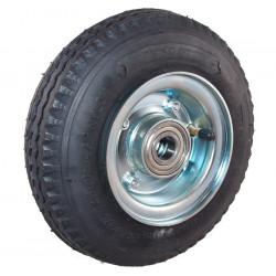 Nafukovací kolo na půleném pozinkovaném disku NB 220 GLV-B1-had -90x25mm