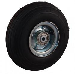 Nafukovací kolo na půleném pozinkovaném disku NB 260 GLV-B1-hladký -90x12mm