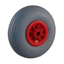 Nafukovací kolo s šedou gumou na plastovém disku NB 260š KP PL-B1-hladký
