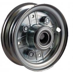 Disk kola samostatný plechový půlený 180-200 GL pozink. na kuličkové ložisko -17mm