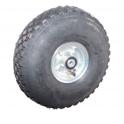 Nafukovací kolo na půleném pozinkovaném disku NB 300 GLP-B2-kostičkový -72x15mm