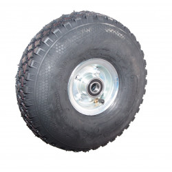 Nafukovací kolo na půleném pozinkovaném disku NB 300 GLP-B2-kostičkový -72x20mm