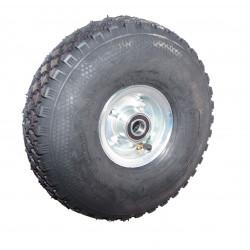 Nafukovací kolo na půleném pozinkovaném disku NB 300 GLP-B2-kostičkový -72x25mm