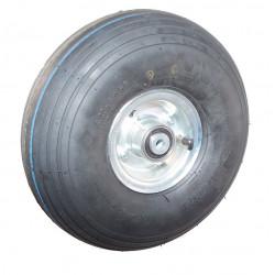 Nafukovací kolo na půleném pozinkovaném disku NB 300 GLP-B1-hladký -72x15mm