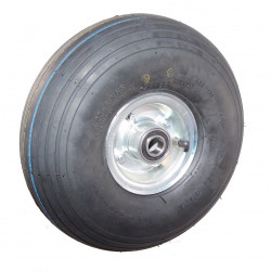 Nafukovací kolo na půleném pozinkovaném disku NB 300 GLP-B1-hladký -72x20mm