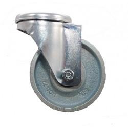 GBK 100/QR  Otočné kolo ocelolitinové s otvorem