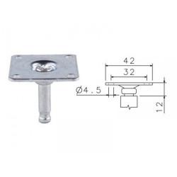 Plotnička ocelová C  42x42 č.170