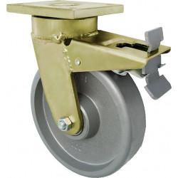 ZCAL 125/GVN Otočné kolo z šedé litiny s brzdou