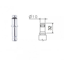 Čep pojistný K  10x32  č.075  (kolečka EMI 10)