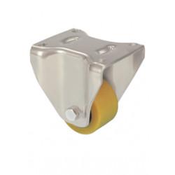 TWK 082/FH  Pevné kolo se žlutou polyuretanovou obručí