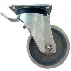 GBK 200/GHN   Otočné kolo ocelolitinové s brzdou
