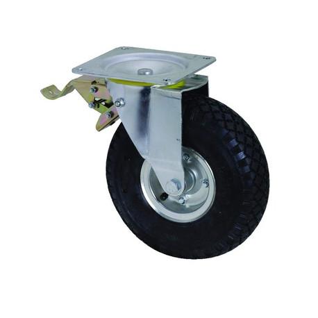 OKP-NB-V260 BR-PL Otočné nafukovací kolo s brzdou