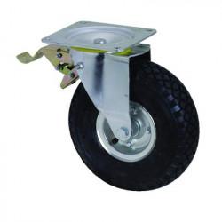 OKP-NB-G225 BR-PL Otočné nafukovací kolo s brzdou