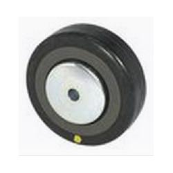 EMAE 080   Samostatné kolo s černou gumovou antistatickou obručí