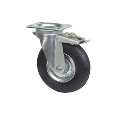OKP-NB-V180 BR-PL Otočné nafukovací kolo s brzdou